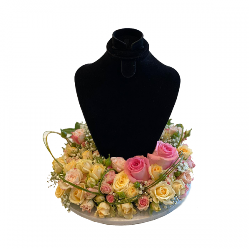 Flowers Necklace Stand
