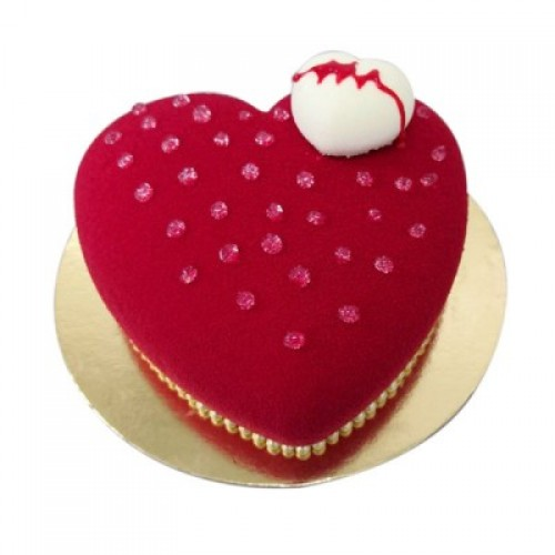 Heart Shape Cake 04