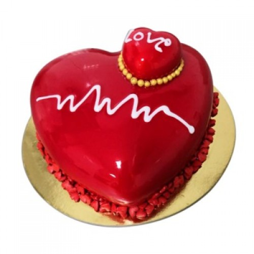 Heart Shape Cake 06