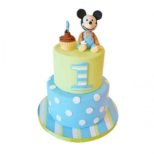 Mickey Mouse Cake 03