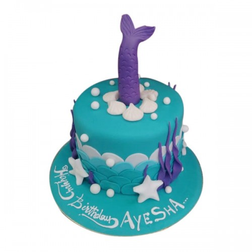 Mermaid Cake 01