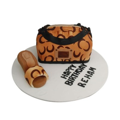 Fashion theme cake