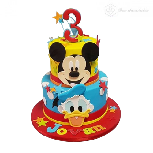 Mickey Mouse Cake 07